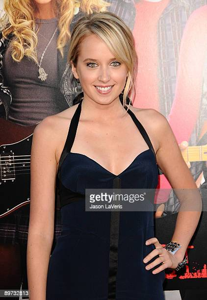 Actress Megan Park attends the premiere of Bandslam at Mann Village Theatre on August 6 2009 in Westwood Los Angeles California