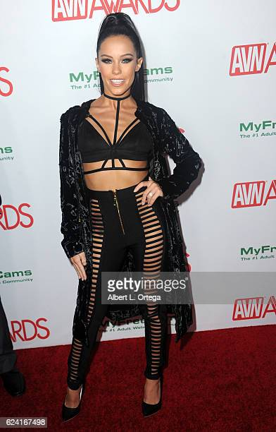 Actress Megan Rain arrives for the 2017 AVN Awards Nomination Party held at Avalon on November 17 2016 in Hollywood California