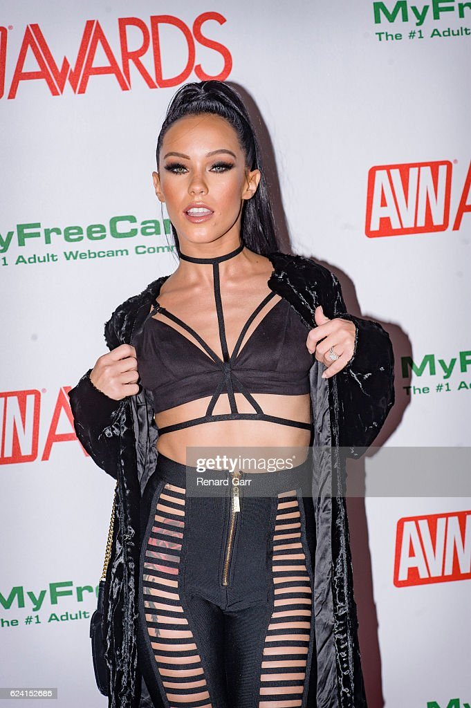 Actress Megan Rain Arrives For The 2017 AVN Nomination Partyat Avalon At On November 17