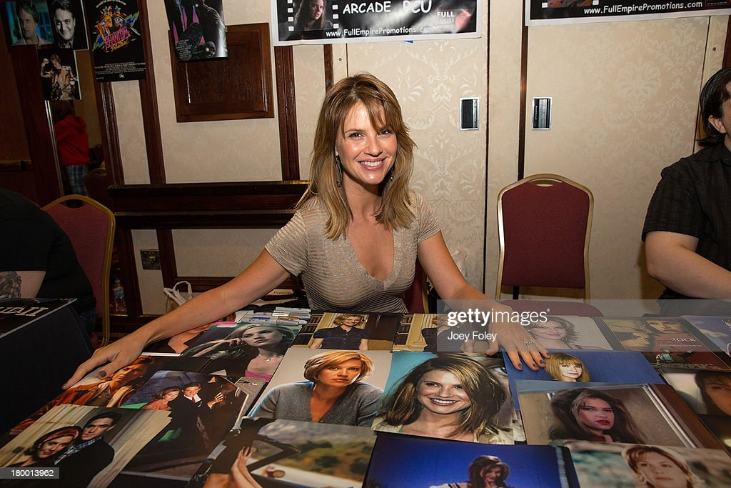 Actress Megan Ward attends HorrorHound Weekend at Marriott Indianapolis on September 7, 2013 in Indianapolis, Indiana.