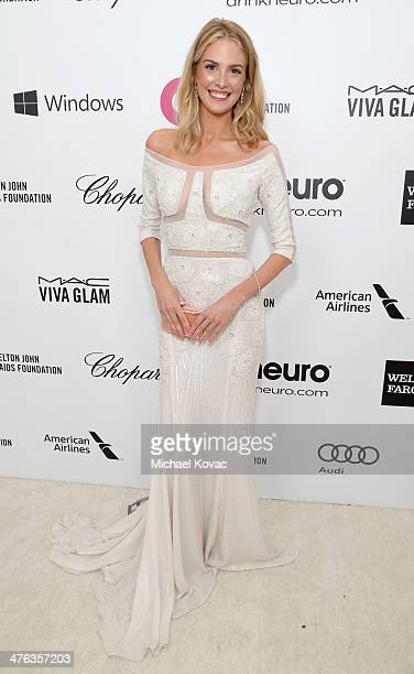 Actress Meghan Flather attends the 22nd Annual Elton John AIDS Foundation Academy Awards Viewing Party at The City of West Hollywood Park on March 2...