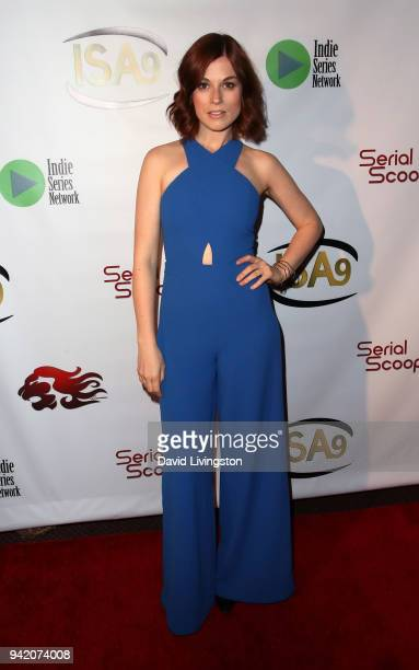 Actress Meghan Heffern attends the 9th Annual Indie Series Awards at The Colony Theatre on April 4 2018 in Burbank California