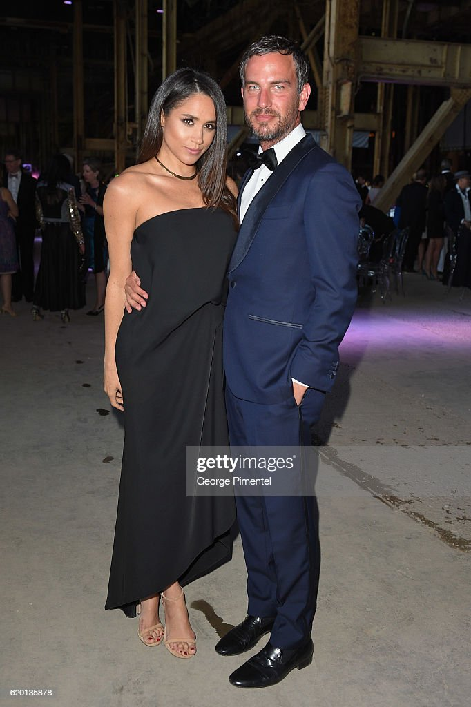 Actress Meghan Markle and Markus Anderson attend Luminato Big Bang Bash 2016 held at the Hearn Generating Station on June 9, 2016 in Toronto, Canada.