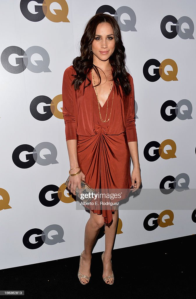 Actress Meghan Markle arrives at the GQ Men of the Year Party at Chateau Marmont on November 13, 2012 in Los Angeles, California.