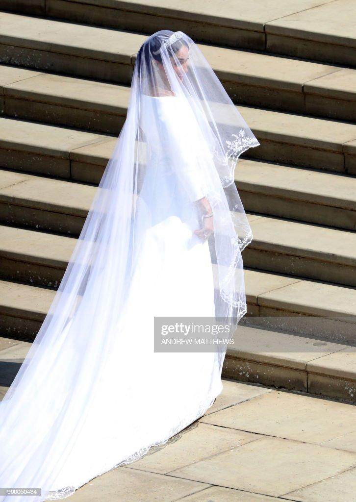 TOPSHOT-BRITAIN-US-ROYALS-WEDDING-CEREMONY : Foto di attualità
