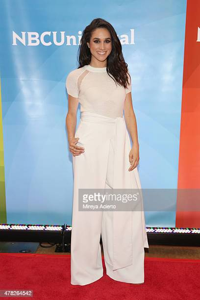 Actress Meghan Markle attends the 2015 NBC New York Summer Press Day at Four Seasons Hotel New York on June 24 2015 in New York City