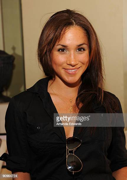 Actress Meghan Markle attends the DPA pre-Emmy Gift Lounge at the Peninsula Hotel on September 18, 2009 in Beverly Hills, California.