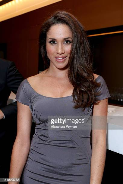 Actress Meghan Markle attends the FINCA Canada Fundraiser At TIFF 2012 during the Toronto International Film Festival on September 11 2012 in Toronto...