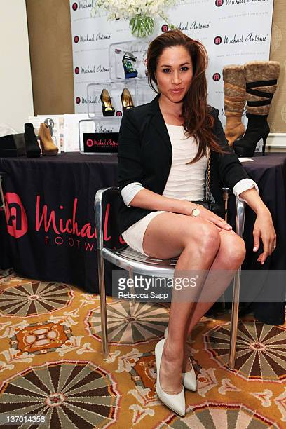 Actress Meghan Markle attends the HBO Luxury Lounge Featuring L'Oreal Paris And New Era Cap Day 1 at Four Seasons Hotel Los Angeles on January 14...