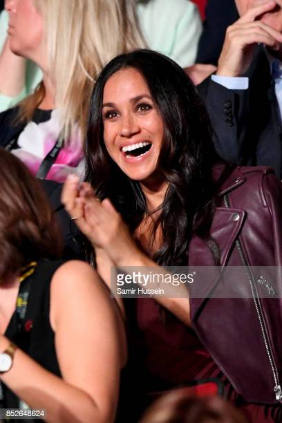 Actress Meghan Markle attends the opening ceremony on day 1 of the Invictus Games Toronto 2017 at Air Canada Centre on September 23 2017 in Toronto...