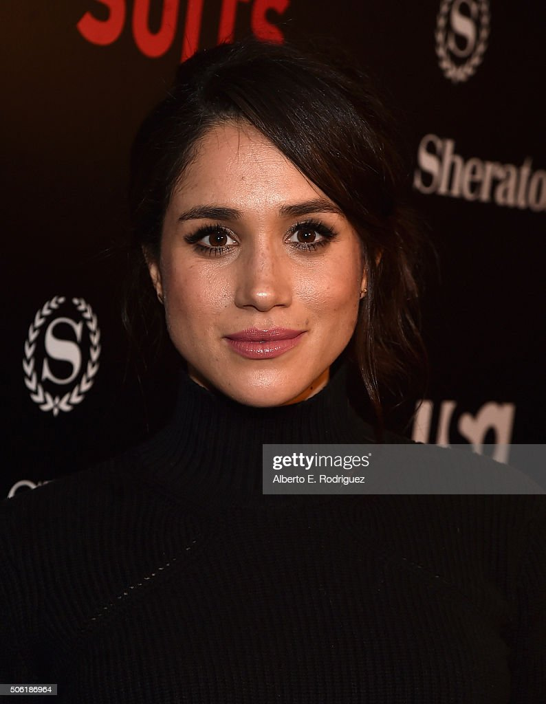 Actress Meghan Markle attends the premiere of USA Network's 'Suits' Season 5 at the Sheraton Los Angeles Downtown Hotel on January 21, 2016 in Los Angeles, California.