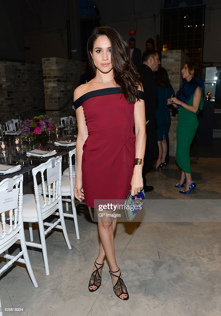 Actress Meghan Markle attends the Roland Mouret private dinner at Corkin Gallery on April 28, 2016 in Toronto, Canada.