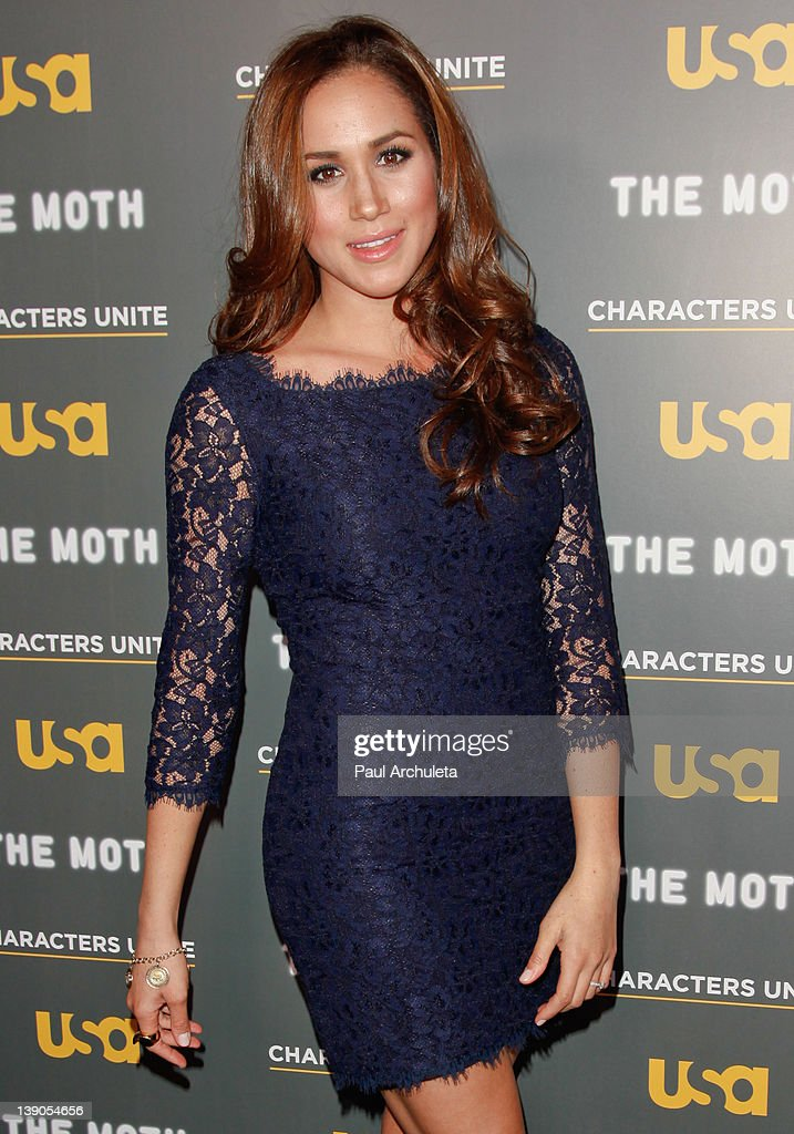 Actress Meghan Markle attends the USA Network and The Moth presentation of 'A More Perfect Union: Stories Of Prejudice And Power' at Pacific Design Center on February 15, 2012 in West Hollywood, California.