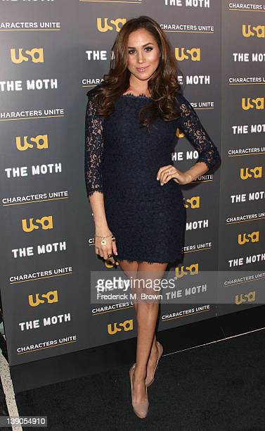 Actress Meghan Markle attends the USA Network's and The Moth's Storytelling Tour A More Perfect Union Stories of Prejudice and Power at the Pacific...