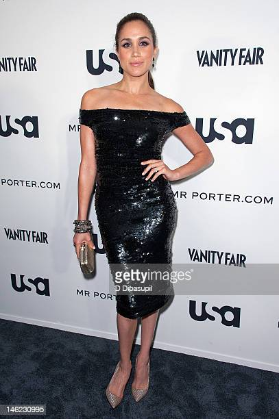 Actress Meghan Markle attends USA Networks a 'Suits' Story fashion show at the High Line on June 12 2012 in New York City