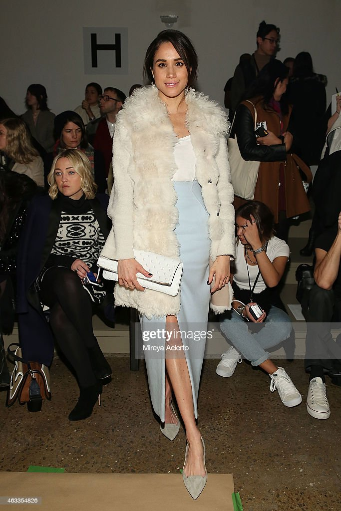 Wes Gordon - Front Row - MADE Fashion Week Fall 2015 : News Photo