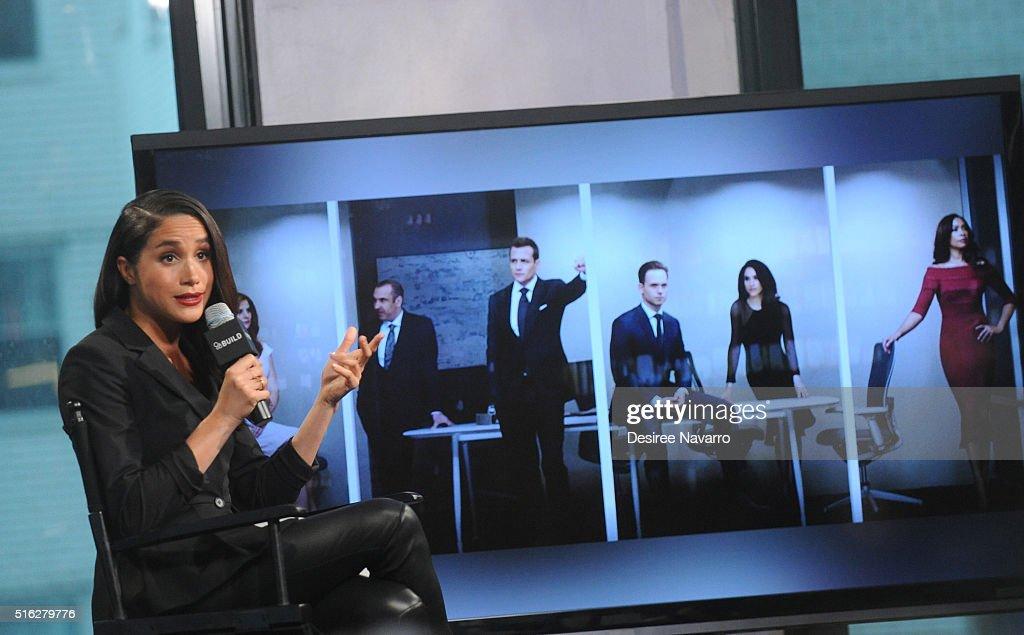 AOL Build Presents 'Suits' : News Photo