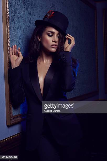 Actress Meghan Markle is photographed for Miami Living Magazine on September 24 2015 in Miami Florida