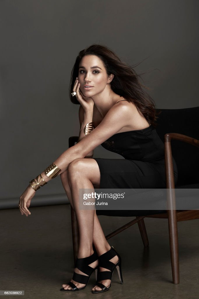 Actress Meghan Markle is photographed for Self Assignment on August 15, 2015 in Toronto, Ontario. NO