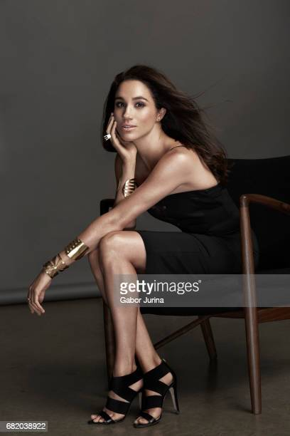Actress Meghan Markle is photographed for Self Assignment on August 15 2015 in Toronto Ontario NO UK SALES TILL DECEMBER 18 2017
