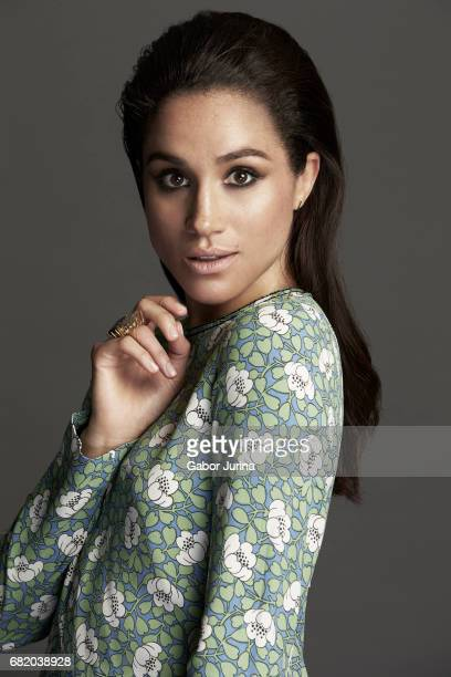 Actress Meghan Markle is photographed for Self Assignment on August 15 2015 in Toronto Ontario