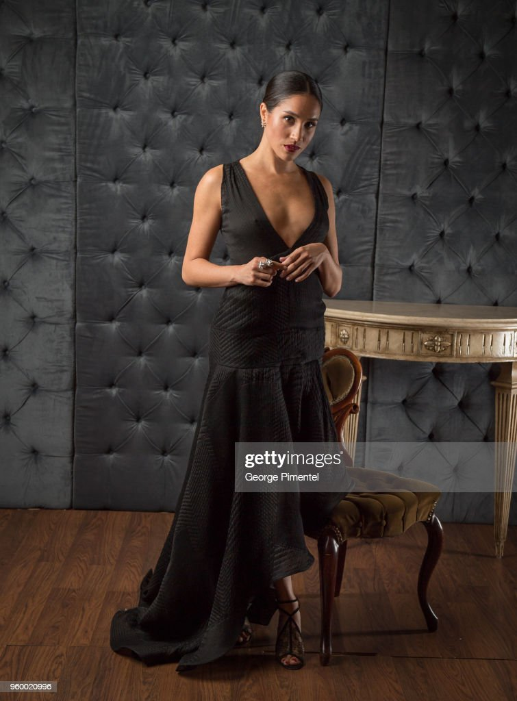 Actress Meghan Markle poses in the CAFA portrait studio at The Fairmont Royal York Hotel on April 15, 2016 in Toronto, Canada.