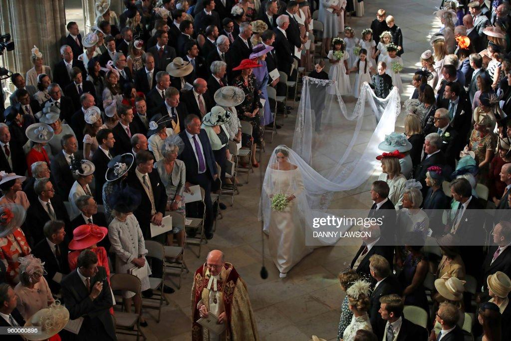 BRITAIN-US-ROYALS-WEDDING-CEREMONY : ニュース写真