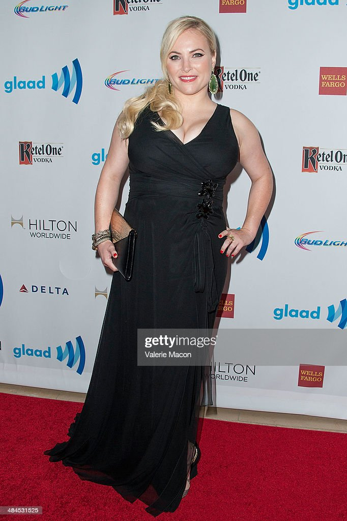 Actress Meghan McCain arrives at the 25th Annual GLAAD Media Awards at The Beverly Hilton Hotel on April 12, 2014 in Beverly Hills, California.