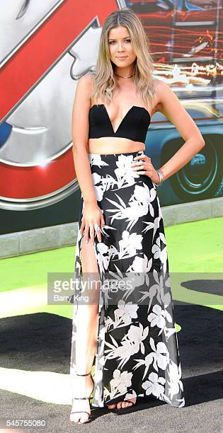 Actress Meghan Rienks attends the premiere of Sony Pictures' 'Ghostbusters' at TCL Chinese Theatre on July 9, 2016 in Hollywood, California.