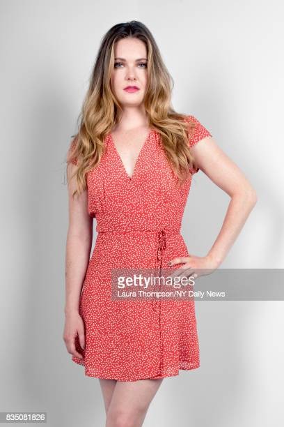 Actress Meghann Fahy for NY Daily News on July 18 in New York City