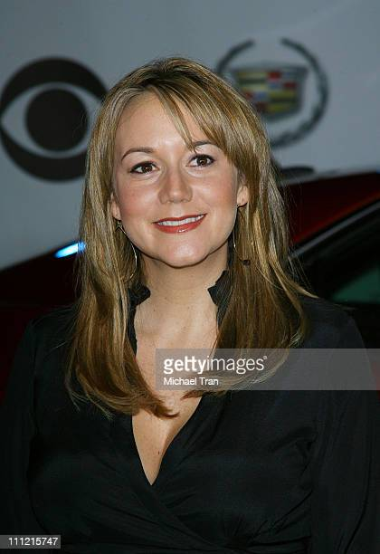 Actress Megyn Price arrives at The Cadillac of Premieres at Area Nightclub on September 19 2007 in West Hollywood California