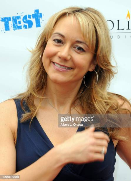 Actress Megyn Price arrives for the the screening of 3 Day Test held at Downtown Independent Theater on December 8 2012 in Los Angeles California