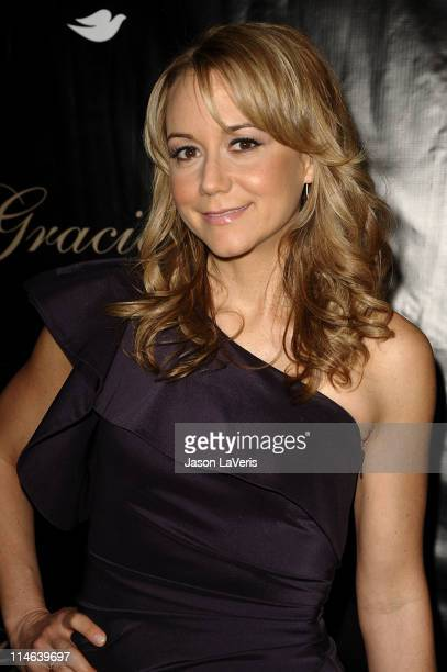 Actress Megyn Price attends the 36th annual Gracie Awards gala at The Beverly Hilton Hotel on May 24 2011 in Beverly Hills California