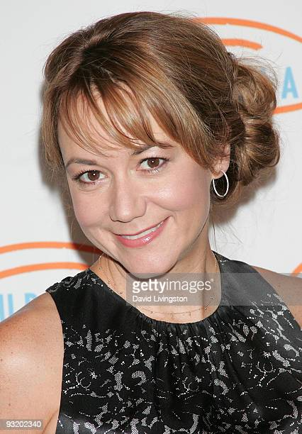 Actress Megyn Price attends the 7th Annual Lupus LA Bag Ladies Luncheon at the Beverly Wilshire Four Seasons Hotel on November 18 2009 in Beverly...