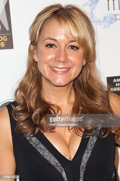 Actress Megyn Price attends The American Humane Association's Hero Dog Awards on October 6 2012 in Beverly Hills California