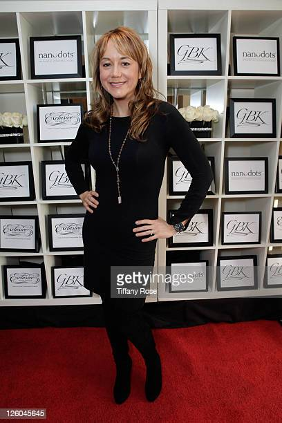 Actress Megyn Price attends the Golden Globes Gift Lounge at The London Hotel on January 14 2011 in West Hollywood California