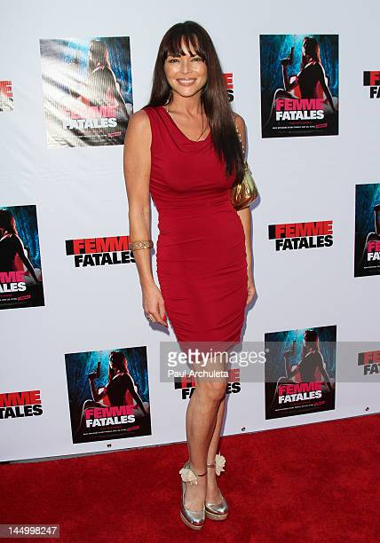 Actress Meilani Paul attends the screening of Cinemax's new series Femme Fatales at ArcLight Hollywood on May 21 2012 in Hollywood California