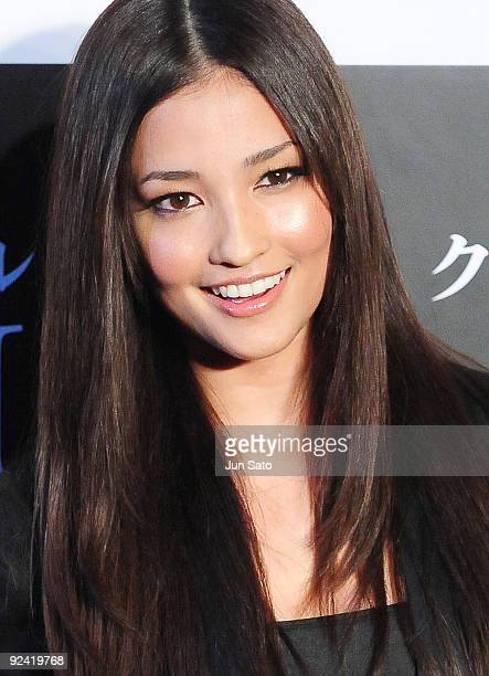 Actress Meisa Kuroki attends Michael Jackson's 'This Is It' Japan Premiere at Roppongi Hills Arena on October 28 2009 in Tokyo Japan The film will...