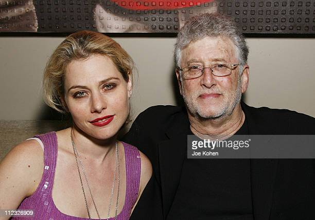 Actress Meital Dohan and publicist Mitchell Fink attend Stitching Opening Night Party on June 25 2008 in New York City