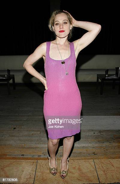 Actress Meital Dohan attends Stitching Opening Night Party on June 25 2008 in New York City