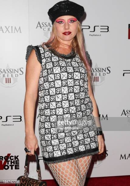 Actress Meital Dohan attends the launch party for Assassin's Creed III along with Maxim and Rock The Vote at The Colony on October 24 2012 in Los...