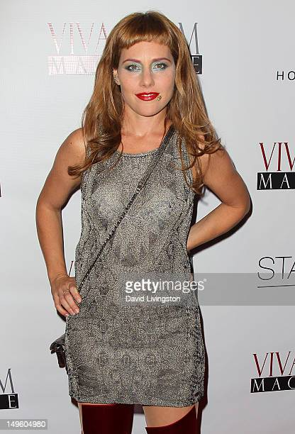 Actress Meital Dohan attends the Viva Glam Magazine September Issue launch party at Station Hollywood on July 31 2012 in Hollywood California