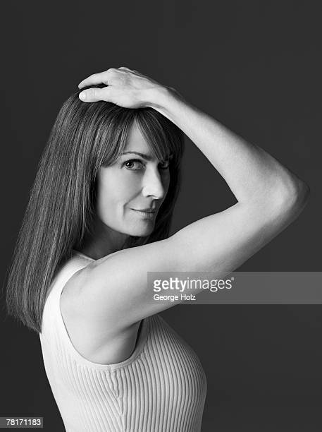 Actress Mel Harris poses at a portrait session for People Magazine on May 24 2007 in Los Angeles California