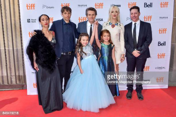 Actress Mela Murder filmmaker Sean Baker actor Willem Dafoe child actresses Brooklynn Prince and Valeria Cotto actress Bria Vinaite and cowriter...