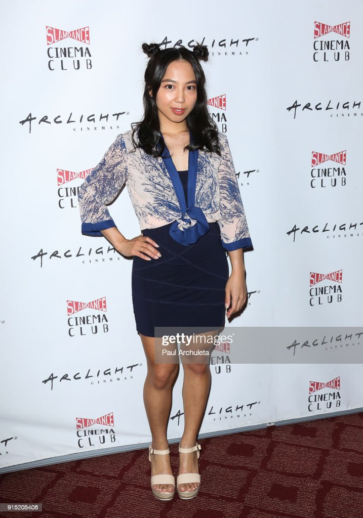 Actress Melanie Anne Padernal attends the Slamdance Cinema Club screening of 'Bernard And Huey' at ArcLight Hollywood on February 6, 2018 in Hollywood, California.