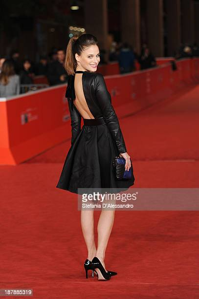 Actress Melanie Bernier attends 'Au Bonheur Des Ogres' Premiere during The 8th Rome Film Festival on November 13 2013 in Rome Italy