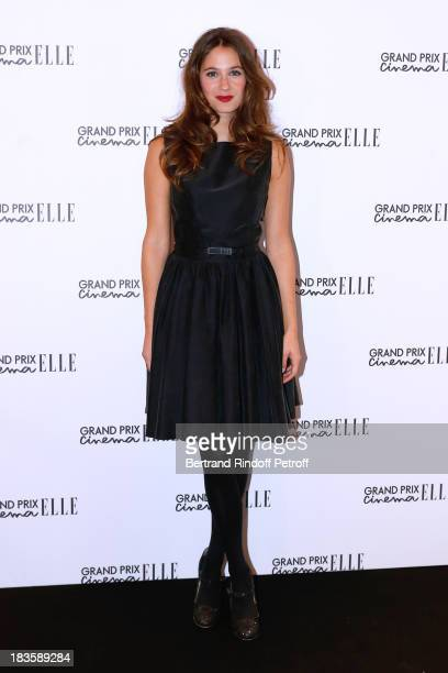 Actress Melanie Bernier attends 'Grand Prix Elle Cinema 2013' held at Cinema Gaumont ChampsElysees Marignan on October 7 2013 in Paris France