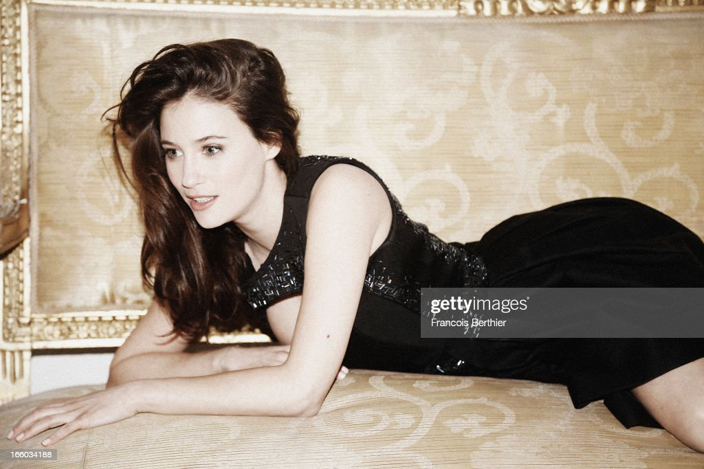 Actress Melanie Bernier is photographed for Self Assignment on April 2, 2013 in Paris, France.