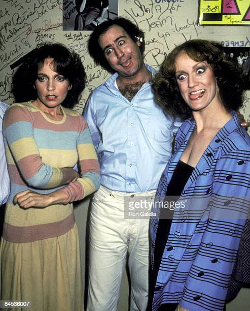 Actress Melanie Chartoff actor Andy Kaufman and actress Brandis Kemp attend the Taping of the Late Night Sketch Show Fridays on February 20 1981 at...
