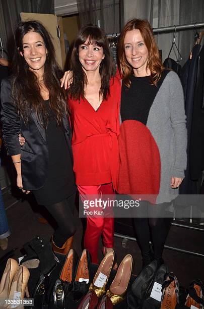 Actress Melanie Doutey Stylist Frederique Lopez actress Lea Drucker attend 'My Beautiful Dressing' Auction Party in Benefit of 'Vision du Monde'...